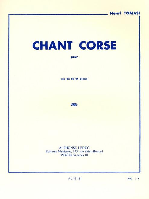 Tomasi, Henri - Chant Corse (image 1)