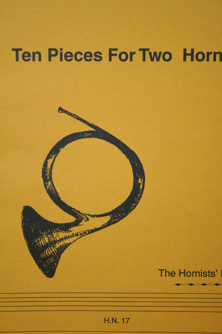 Hill, Douglas - Ten Pieces for Two Horns