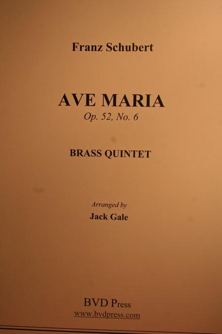 Schubert, Franz - Ave Maria, Op. 52, No. 6 (Brass Quintet)