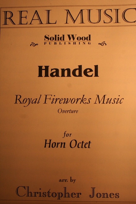 Handel, G.F. - Royal Fireworks Music, Overture