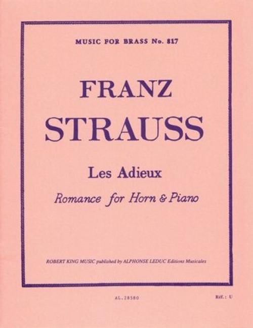 Strauss, Franz - Les Adieux, Romance (image 1)