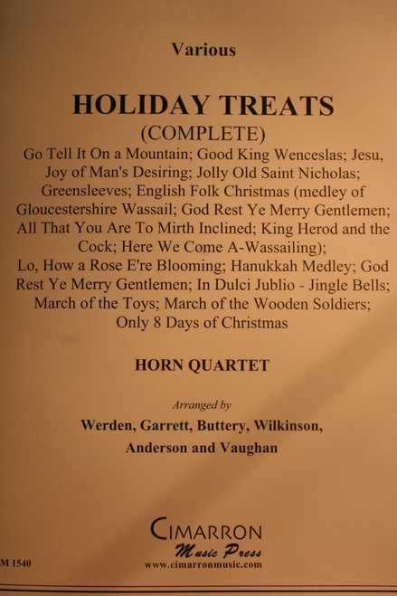 Traditional Christmas - Holiday Treats (Complete)