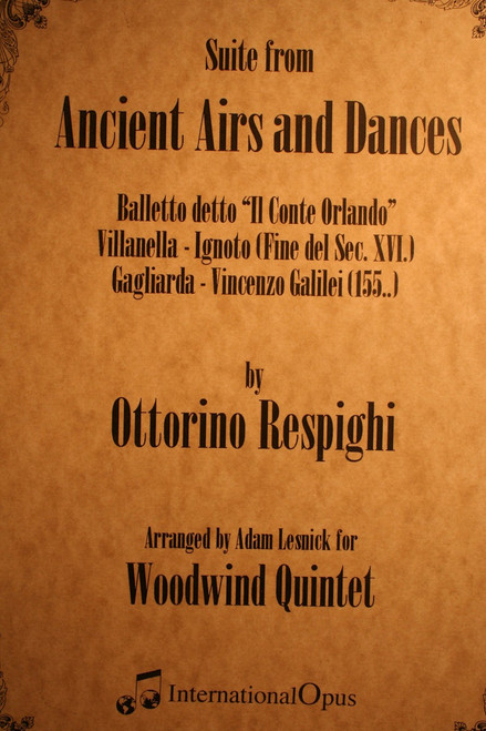 Respighi, Ottorino - Ancient Airs And Dances
