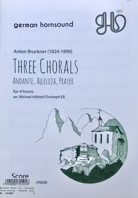 Bruckner, Anton - Three Chorals (image 1)