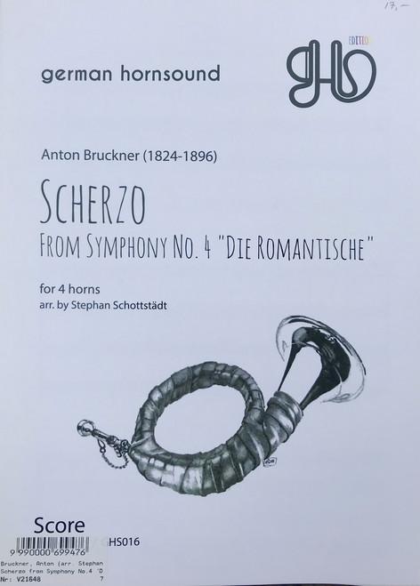 """Bruckner, Anton - Scherzo from Symphony No. 4 """"Die Romantische"""" (image 1)"""
