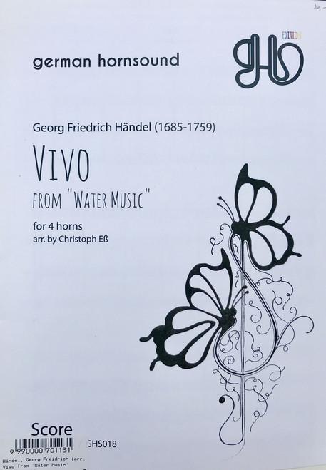 "Handel, Georg Friedrich - Vivo from ""Water Music"" (image 1)"