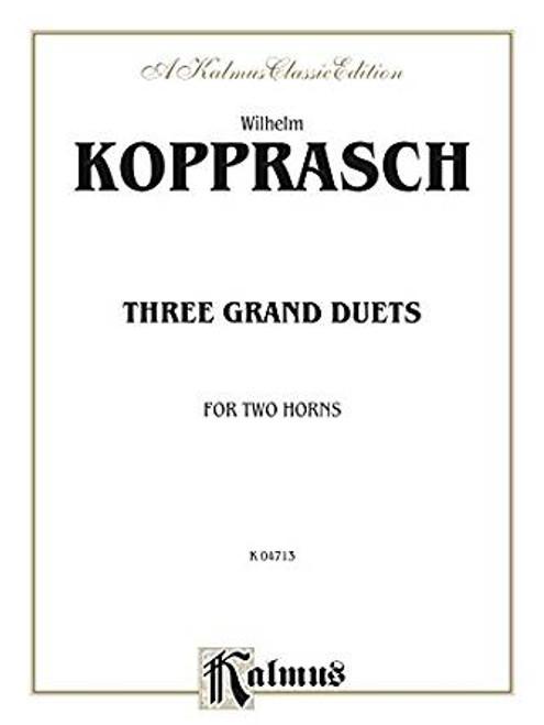 Kopprasch, Wilhelm - Three Grand Duets (image 1)