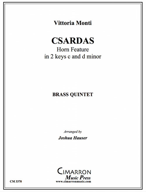 Monti, Vittoria - Csardas (Horn Feature in 2 keys c and d minor) (image 1)