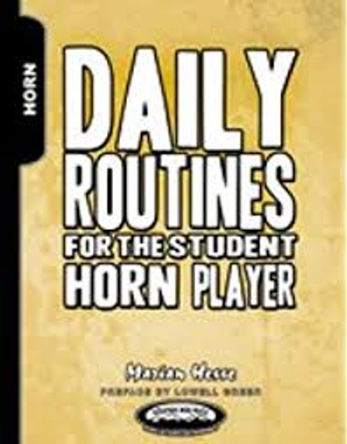 Hesse, Marian - Daily Routines for the Student Horn Player