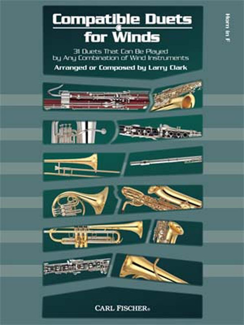 Clark, Larry - Compatible Duets for Horn in F