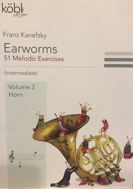 Kanefzky, Franz - Earworms, 51 Melodic Exercises, Volume 2, Horn
