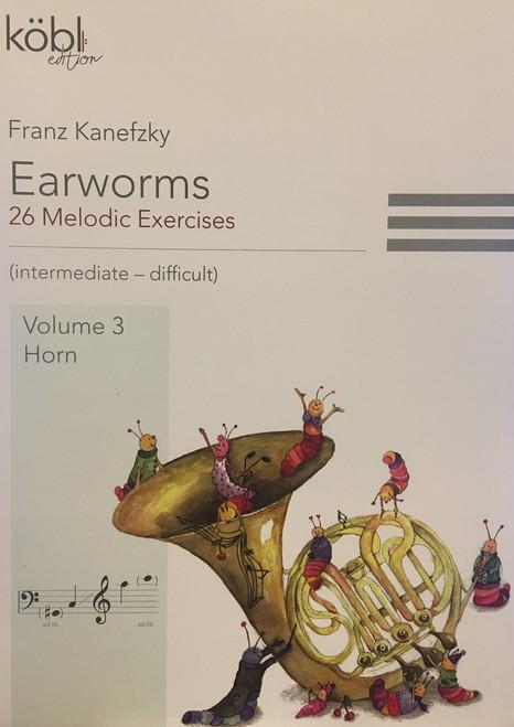 Kanefzky, Franz - Earworms, 26 Melodic Exercises, Volume 3