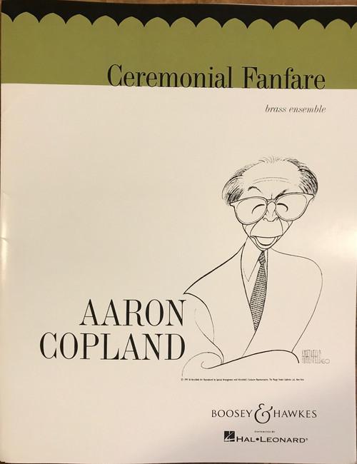 Copland, Aaron - Ceremonial Fanfare for Brass Ensemble
