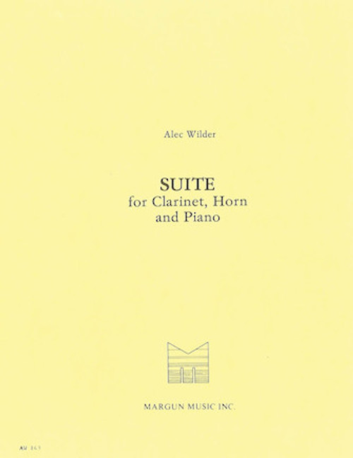 Wilder, Alex - Suite for Clarinet, Horn and Piano