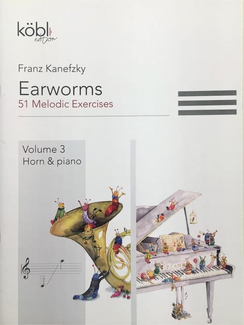 Kanefzky, Franz - Earworms, 51 Melodic Exercises, Volume 3, Horn & Piano