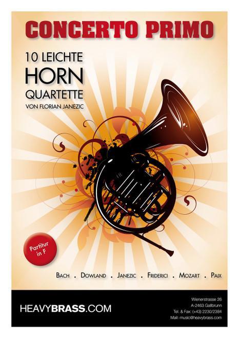 Janezic Concerto Primo 10 Light Horn Quartets