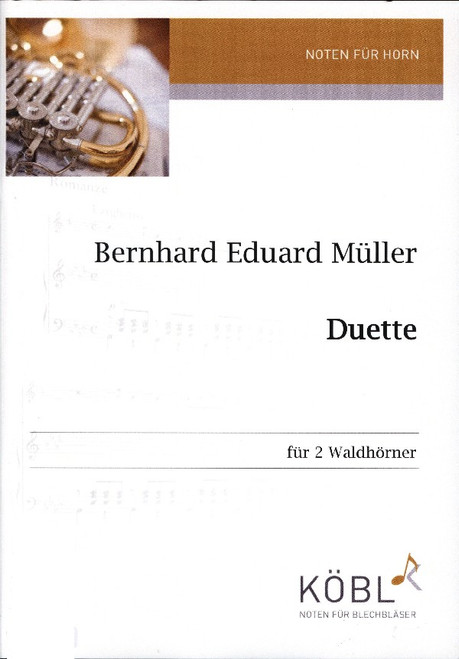 Muller, Bernhard Eduard - Duet for 2 horns