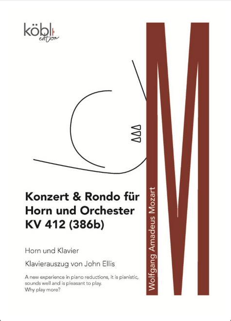 Mozart, W.A. - Konzert & Rondo KV 412 (386b) (Horn and Piano Reduction)
