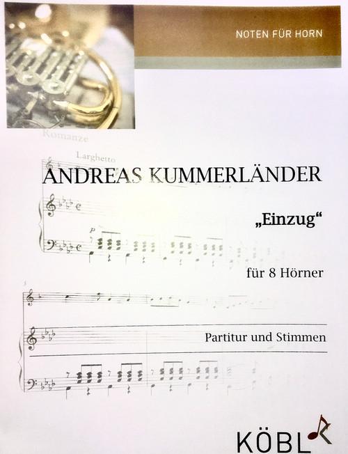 Kummerlander, Andreas - Einzug