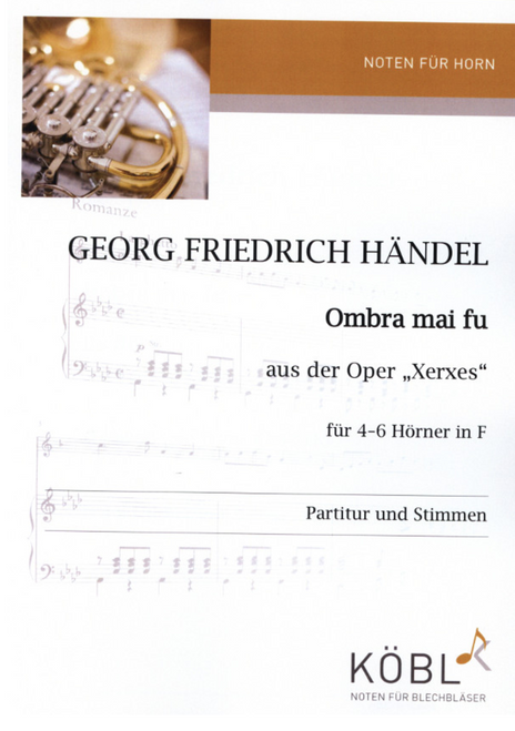 Handel, G.F. - 'Ombra mai fu' from 'Xerxes'