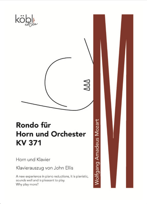 Mozart, W.A. - Rondo for Horn and Orchestra KV 371 (Piano Reduction)