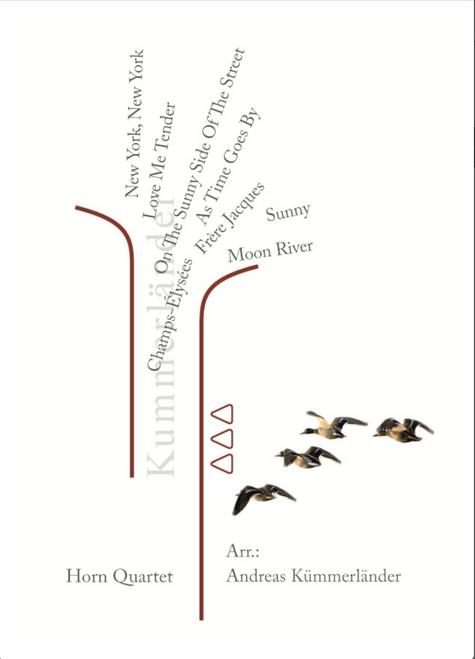 Kummerlander, Andreas - 8 Modern Horn Quartets