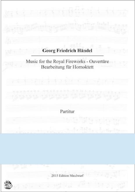 Handel, G.F. - Music for the Royal Fireworks
