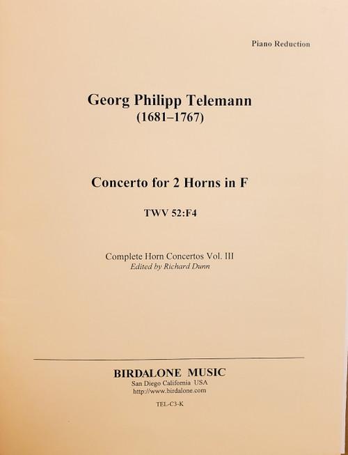Telemann Duo Concerto in F