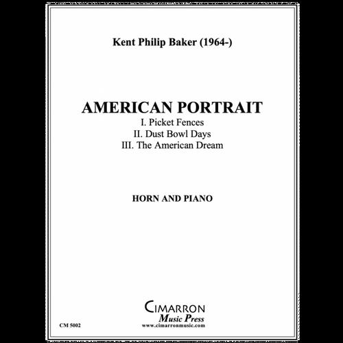 Baker, Kent Philip - American Portrait