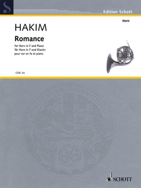 Hakim, Naji - Romance for Horn and Piano
