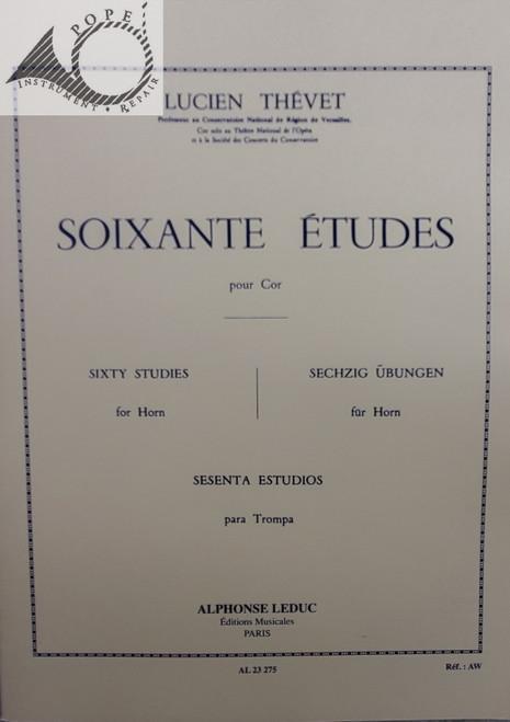 Thevet, Lucien - 60 Etudes