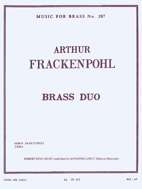 Frackenpohl, Arthur - Brass Duo for Horn and Tuba
