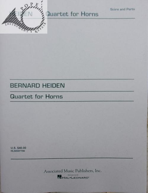 Heiden, Bernard - Quartet for Horns