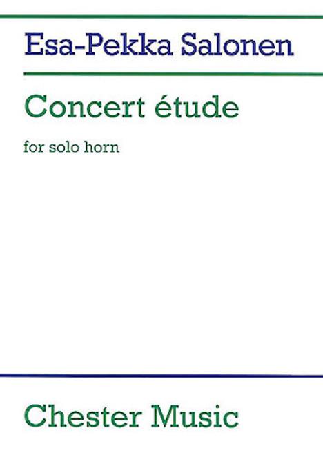 Salonen, Esa-Pekka - Concert Etude for solo horn