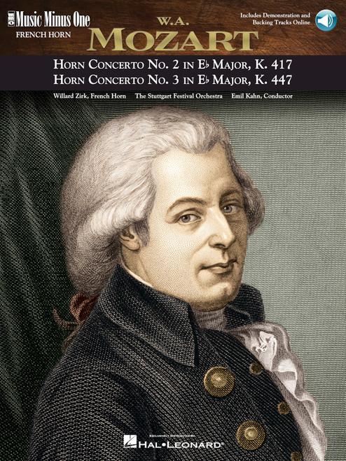 Mozart – Horn Concerto No. 2,  No. 3,  Music Minus One