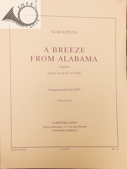 Joplin, Scott - A Breeze from Alabama