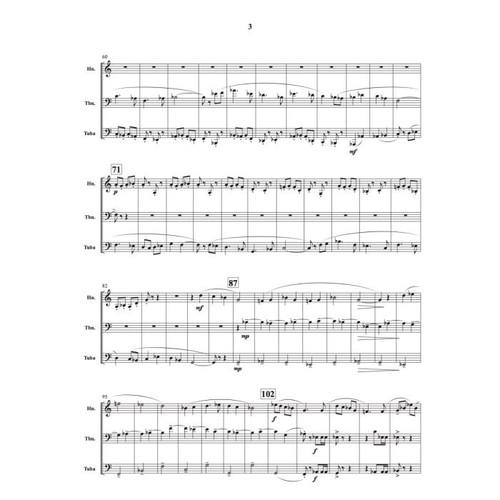 Zegiel, Evan - Triptych for Horn, Trombone and Tuba