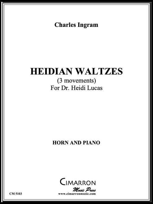 Ingram, Charles - Heidian Waltzes for Heidi Lucas