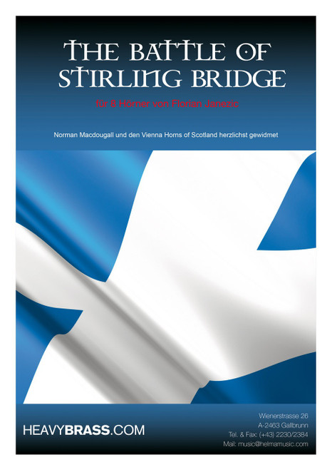 Janezic, Florian - The Battle of Stirling Bridge for 8 Horns