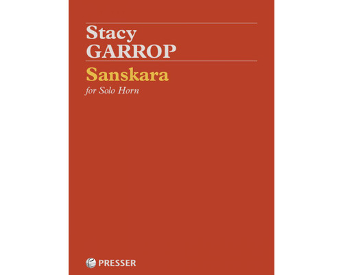 Garrop, Stacy - Sanskara for Solo Horn