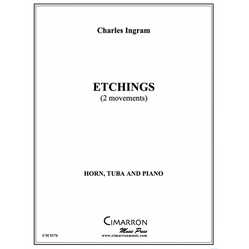 Ingram Charles - Etchings for Horn, Tuba and Piano