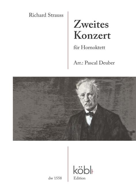 Strauss, Richard - Second Concerto for Horn Octet