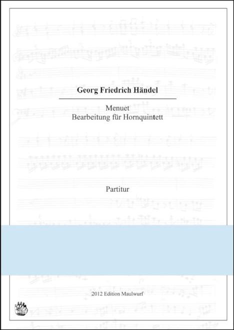Handel - Menuett for 5 horns from Water Music