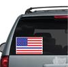 Thin Blue Line American Flag Car Decal