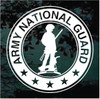 U.S. Army National Guard Logo Window Decal