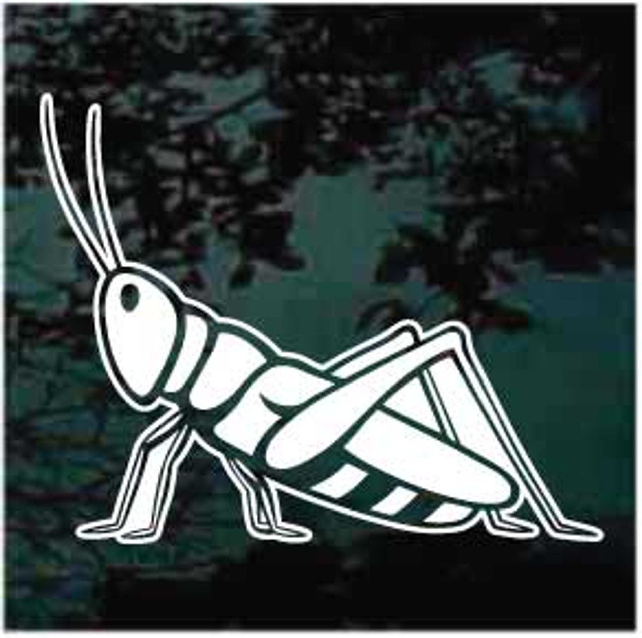 Grasshopper Window Decal 01