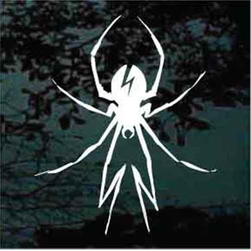 Black Widow Hood Graphic Decals