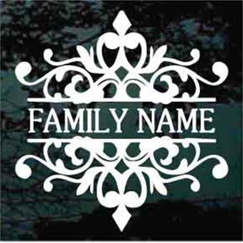Ornamental Name Border