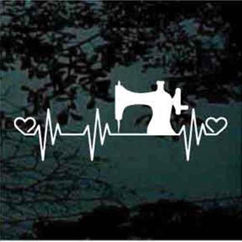 Sewing Machine Heartbeat