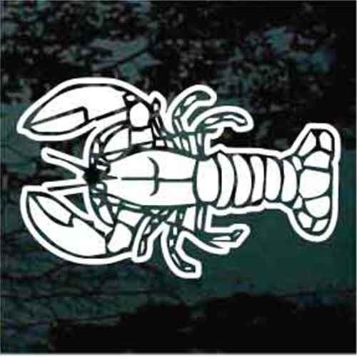 Detailed Lobster Decals